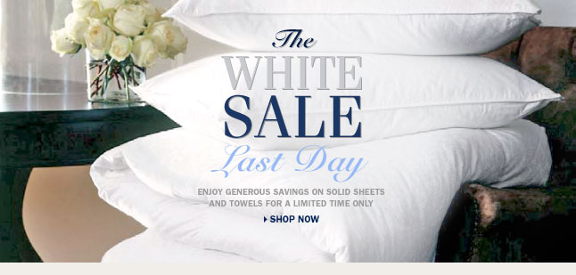 The White Sale - Shop Now