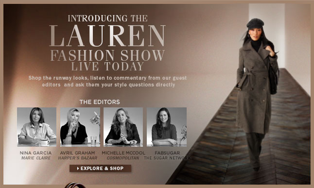 The Lauren Fashion Show - LIVE TODAY