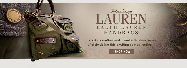 The Lauren Handbag Collection