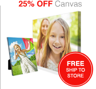 25% OFF Canvas