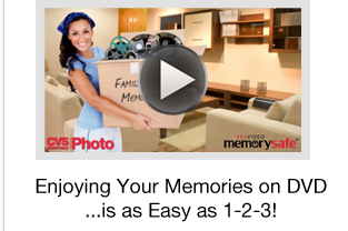 Enjoying Your Memories on DVD...is as Easy as 1–2–3!