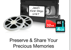 Preserve & Share Your Precious Memories