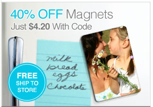 40% Off Magnets Just $4.20 With Code. Free Ship To Store