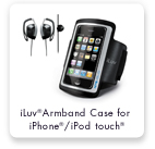 iLuv®Armband Case for iPhone®/iPod touch®